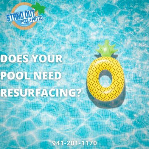 Does your pool need resurfacing?